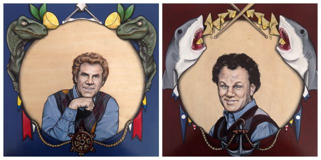 Step Brothers Portrait Commission