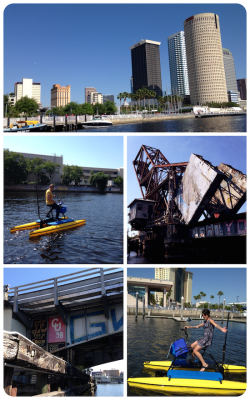 Tampa Water Bike Adventure